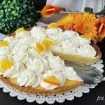 Tarta z kremem pomarańczowym
