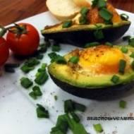 Avocado z jajkiem