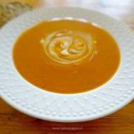 Lekka zupa-krem pomidorowy z ciecierzycą