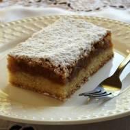 Placek z jabłkami – kuchnia podkarpacka