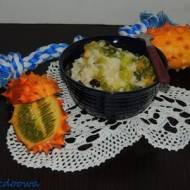 Pudding ryżowy z kiwano
