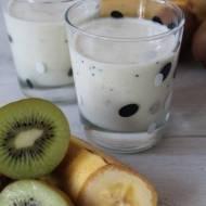 Koktajl kiwi – banan (nakefirze)
