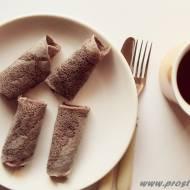 Naleśniki z mąką z czarnego ryżu ( bez glutenu, mleka i jajek )