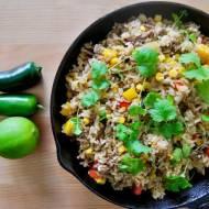Pikantny, smażony ryż po teksańsku