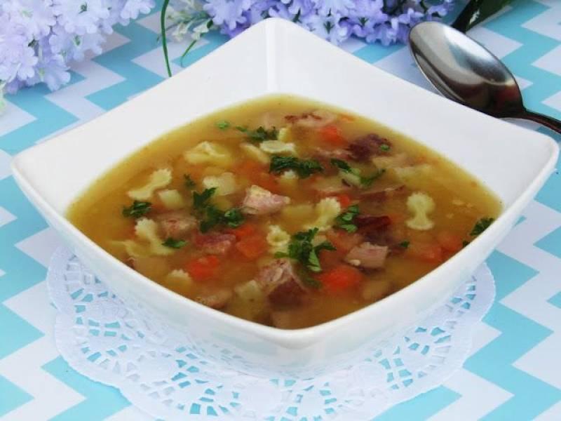 Przepis Na Zupa Grochowa Z Makaronem I Wedlina Tradycyjna Kuchnia