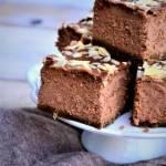Prosty sernik czekoladowy na kruchym spodzie