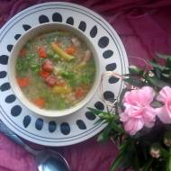 Zupa groszkowo - fasolowa