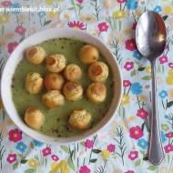 Zupa serowa z zielonej fasolki i zielonej papryki
