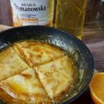Crepes Suzette - naleśniki z syropem pomarańczowym