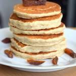 Wegańskie pancakes owsiano-jaglane :)