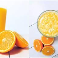 Koktajl z mango i pomarańczy