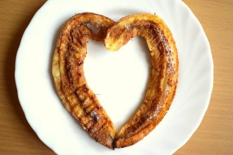 Pieczony banan z cynamonem :)