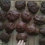 Ciasteczka czekoladowe owsiane chrupiaco miękkie