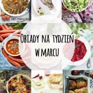 Obiady na tydzień w marcu