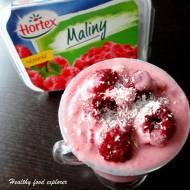 Śniadaniowe malinowe smoothie