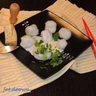 Wietnamskie kuleczki z serem pleśniowym