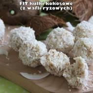 Fit kulki kokosowe (na bazie wafli ryżowych)