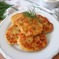 Placuszki z łososiem (Frittelle di salmone)