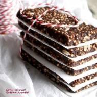 Batoniki z daktyli i popingu z quinoa - super fit