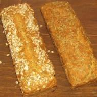 Chleb pieczony na proszku do pieczenia, bardzo prosty przepis.