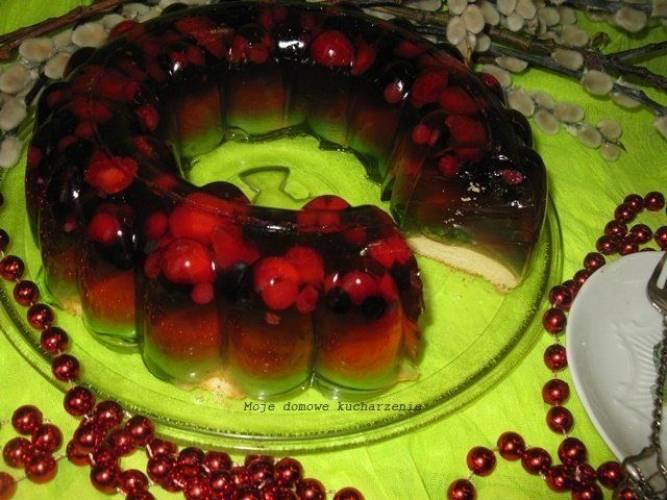 Galaretkowiec z owocami