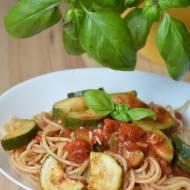 Expresowe spaghetti z cukinią