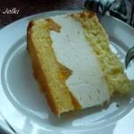 Ciasto śmietanowo cytrynowo twarogowe z nutą cytrynową