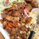 Gulasz z karkówki o smaku kebab - gyros :)