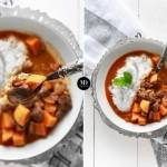Massaman Curry z wołowiną i batatami