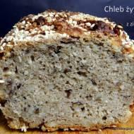 Chleb żytni z ziarnami - marcowa piekarnia