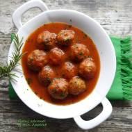 Klopsiki z indyka w sosie pomidorowym - fit
