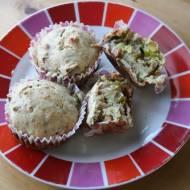 Muffinki z porem i kiełbasą