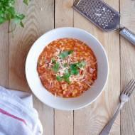 Risotto z pomidorami, prosciutto i tymiankiem