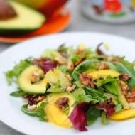 Sałatka z mango i awokado