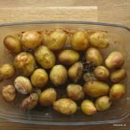 Zapiekane młode ziemniaki