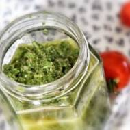 Zielony sos sałatkowy
