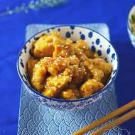 Kurczak w sosie pomarańczowym z sezamem