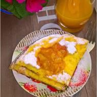 Mandarynkowy omlet śniadaniowy
