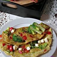 Omlet z papryką i brokułem + śniadaniowa taca od My Gift Dna