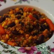 Pomysł na… kaszę bulgur z warzywami