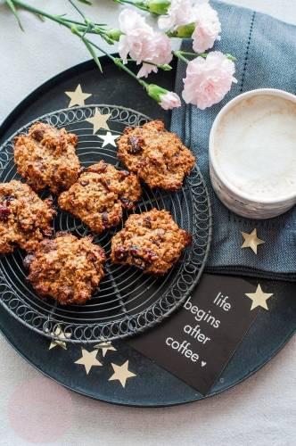 Ciasteczka owsiane w 15 minut – dwie wersje