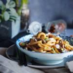 Makaron udon z wołowiną i grzybami / Beef and mushroom udon noodles