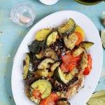 Pieczone warzywa śródziemnomorskie