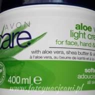Avon Care – Aloe Vera light Cream – czyli szczerze od konsultantki