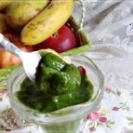 Błyskawiczne zielone  lody 3-składnikowe