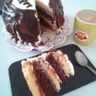 Mój urodzinowy tort czekoladowy