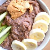 Owsianka z odżywką białkową - wegańska :)