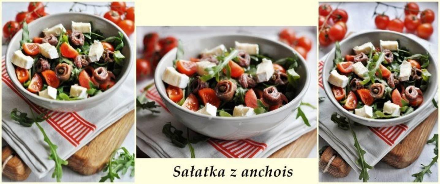 Sałatka z anchois