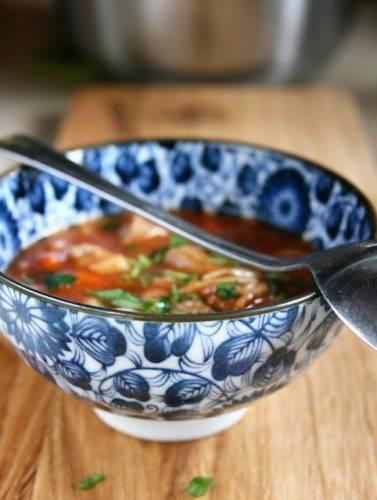 Pyszna zupa pomidorowa