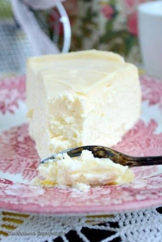 Sernik cytrynowy na mleku skondensowanym